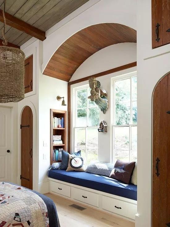 百的宝健康板材:飘窗这样设计,真的会多出半间房